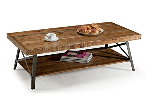 Emerald Home T100-0 Chandler rustic coffee table